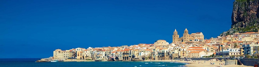 view over Cefalu - Sicily