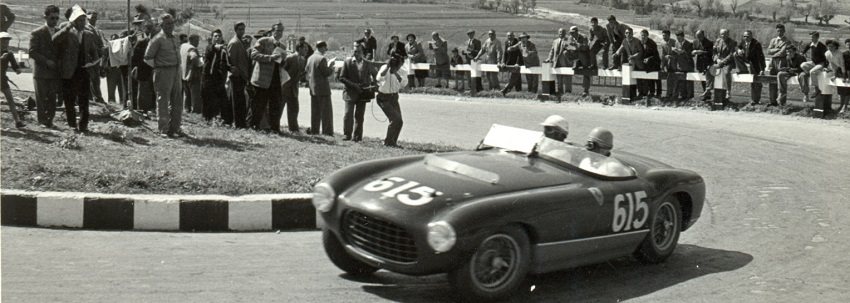 Targa Florio in the 50s - This is how the road raced then